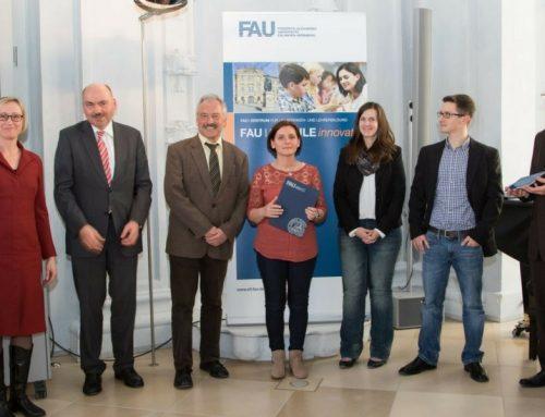 Auszeichnung beim FAU Schulnetz Tag