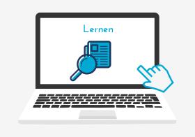 Icon zum Lernen an der Virtuellen Berufsoberschule Bayern
