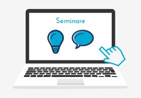 Icon zu Seminaren an der Virtuellen Berufsoberschule Bayern