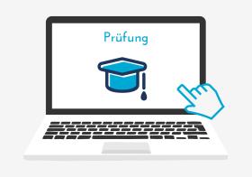 Icon zu Prüfungen an der Virtuellen Berufsoberschule Bayern