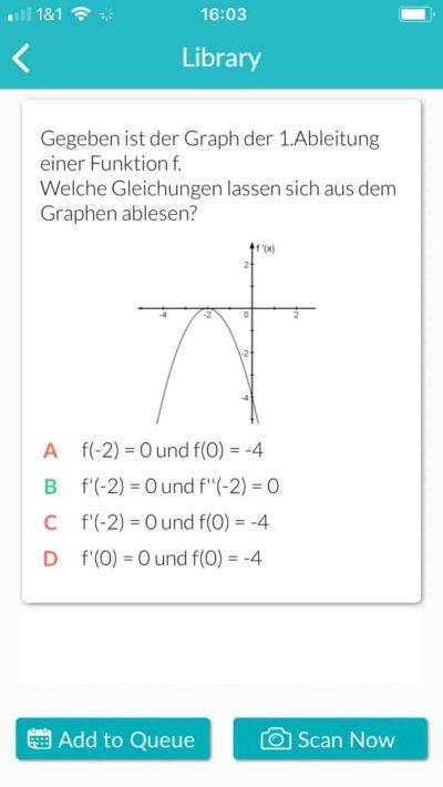 Mathematik Beispiel Plickers