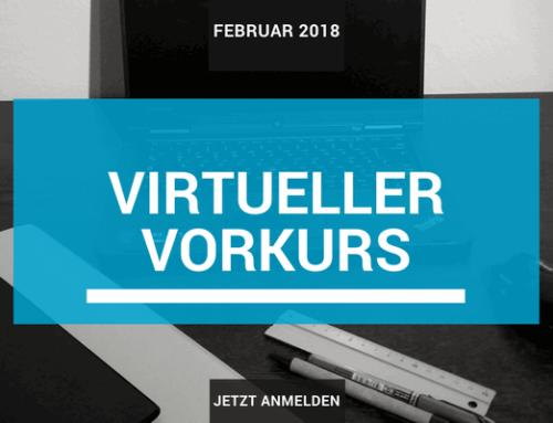 Virtueller Vorkurs